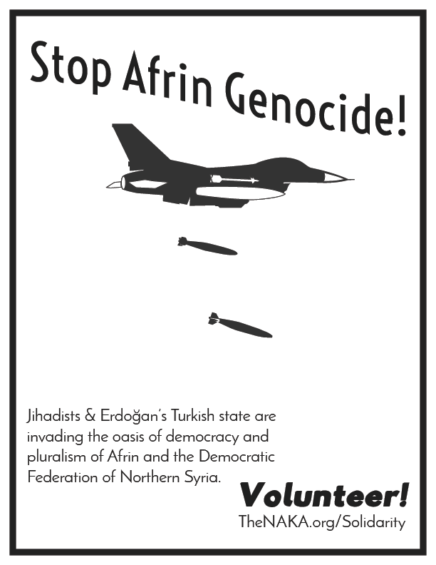 Stop Afrin Genocide V2 Grayscale